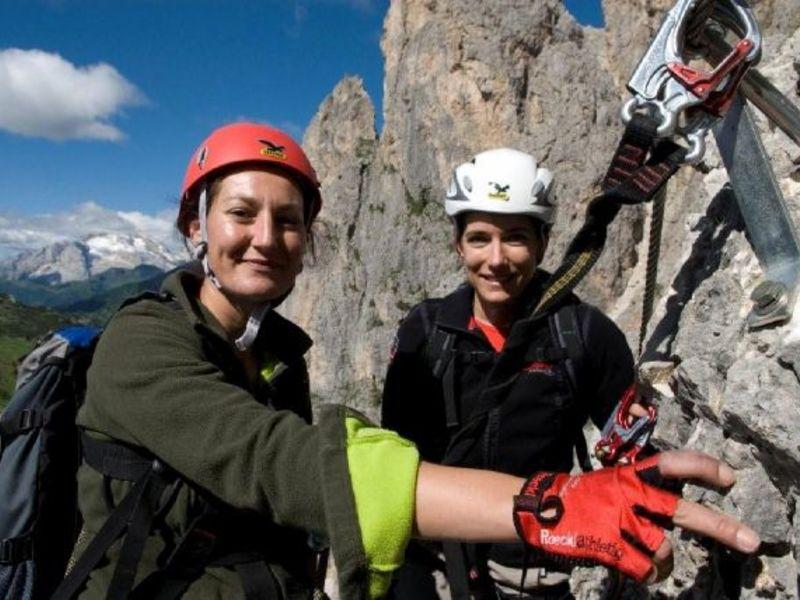 Klettersteig Fall : Colodri klettersteig bei arco am gardasee auf den berg