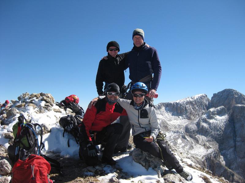 Klettersteig Dolomiten : Klettersteige brenta home is where the mountains are