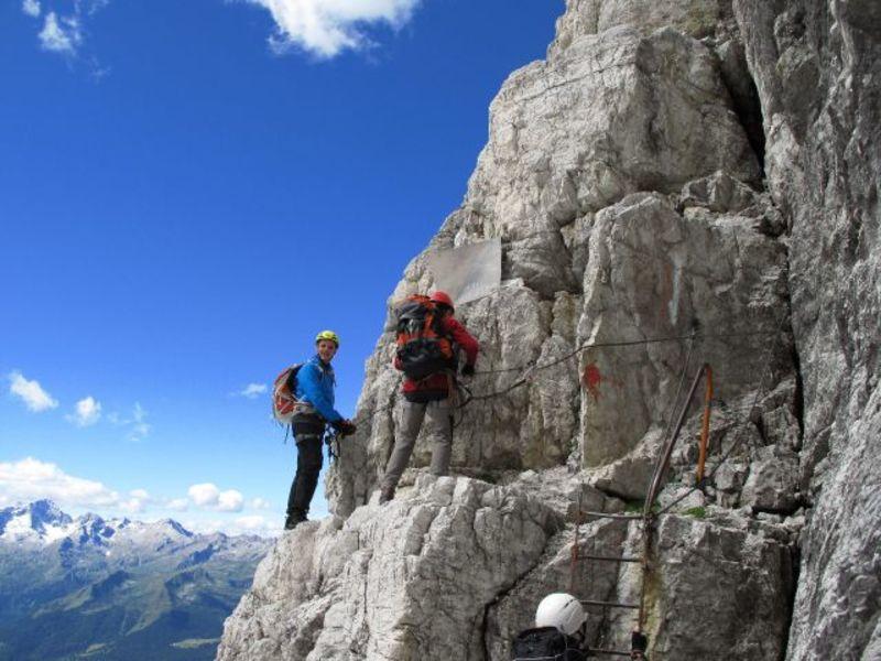 Klettersteig Leiter : Alpenstieg ihr bergtourenexperte