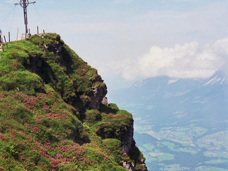 Klettersteig Kitzbüheler Horn : Kitzbüheler horn